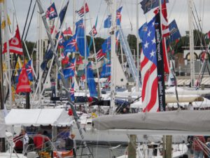 Dr Thom Dammrich of GMBA USA talks about the year boat shows stopped