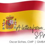 Letter from Palma de Mallorca, Spain | Oscar Siches CMP, GMBA Spain