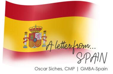 Letter from Palma de Mallorca, Spain   Oscar Siches CMP, GMBA Spain